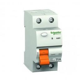 Выключатель диф. тока 2п 16А 10мА тип AC ВД63 Домовой SchE