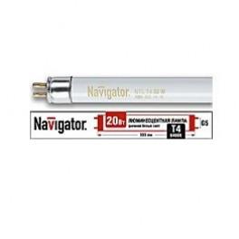 Лампа люминесцентная 94 115 NTL-T4-20-860-G5 Navigator