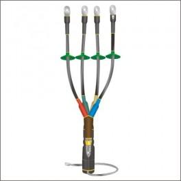 Муфта кабельная концевая наруж. уст. 1кВ КНТпН 4х(35-50мм) с наконеч. Нева-Транс