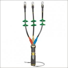 Муфта кабельная концевая наруж. уст. 10кВ КНТпН 3х(35-50мм) с наконеч. Нева-Транс