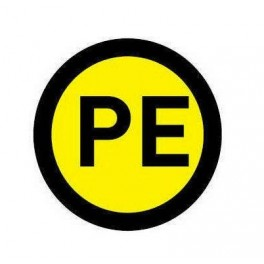 Наклейка PE (1шт) d20мм EKF