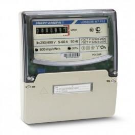 Счетчик ЦЭ-6803В 1 3ф 10-100А 230В 1 класс точн. 1 тариф. 4пр М7P32 щиток или DIN-рейка Энергомера