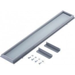 Matt tempered glass for HB LED