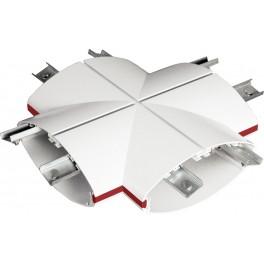 RV соединитель X белый