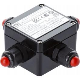 Коробка соединительная взрывозащищенная LTJB-eP-1/2.1-[24x12]-[LT-BM-X3(1/0/1/0)]