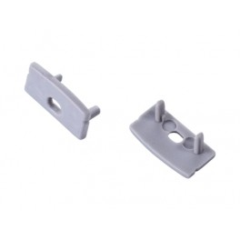 PROFILE S01 end caps with hole (set of 2 pcs)