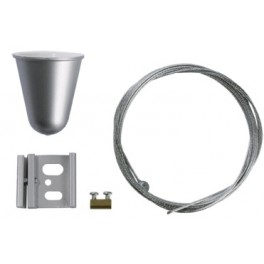 Suspension kit PG 1,5m. metallic
