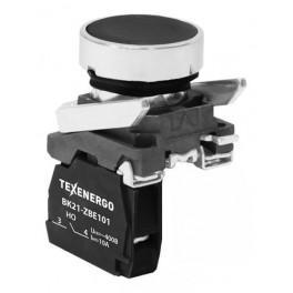Выключатель кнопочный ВК21-ВА21 1з чёрный