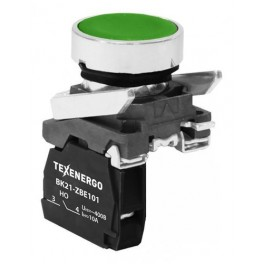 Выключатель кнопочный ВК21-ВА31 1з зеленый