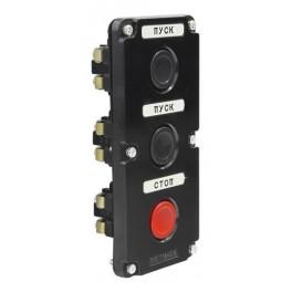 Пост кнопочный ПКЕ 112-3 У3 IP40 (пластик)