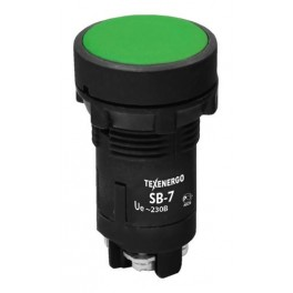Кнопка SB-7 «Пуск» зеленый