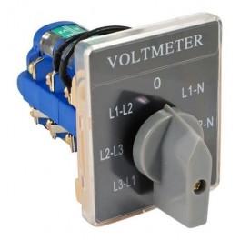 Переключатель ПК16-В-66-U для вольтметра 7-ми поз.