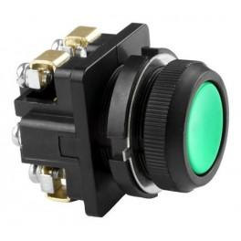 Выключатель кнопочный КЕ 011/2 зеленый 1з+1р, карболит