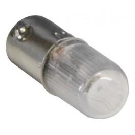 Лампа сменная красная неон/230В