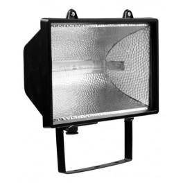 Прожектор галогенный ИО 1500Вт черный IP54
