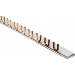 Шина соединительная тип FORK (вилка) 1ф до 63А (дл.1м)