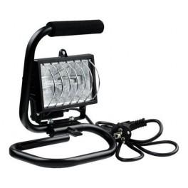 Прожектор галогенный ИО150Вт П (переноска) IP54