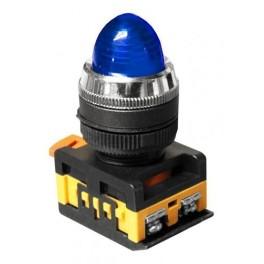 Сигнальная лампа AL-22 синий 230В неоновая лампа