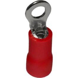 Наконечник кольцевой изолированный НКИ 1,5-3 красный (100 шт.)