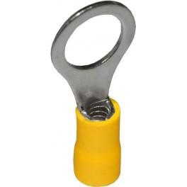 Наконечник кольцевой изолированный НКИ 6,0-10 жёлтый (100 шт.)