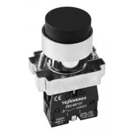Кнопочный выключатель LAY5-BL21 черный 1з