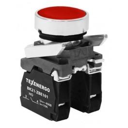 Выключатель кнопочный ВК21-ВА45 1з+1р красный