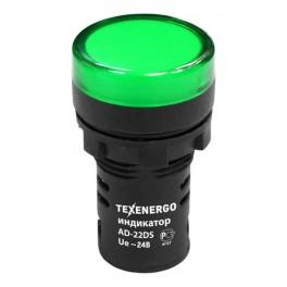 Арматура светосигнальная AD22DS 24В зеленая
