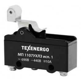 Микропереключатель МП 1107УХЛ3 исп.1 винт (рычаг с роликом)