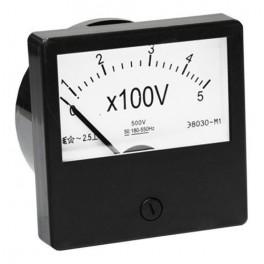 Вольтметр Э8030-М1 500 В