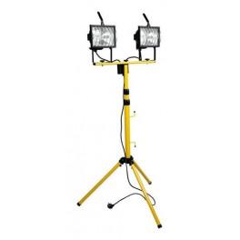 Прожектор галогенный ИО 2х500Вт на стойке IP54