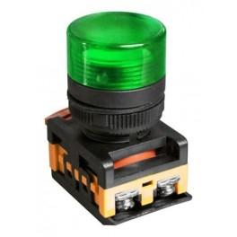 Сигнальная лампа AL-22TE зеленая 230В неоновая лампа