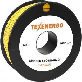 Маркер МК1-2,5 мм символ '1' 1000шт/рол.