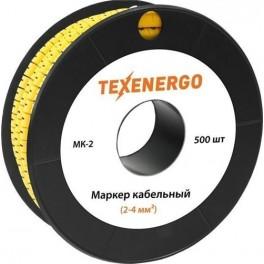 Маркер МК2- 4 мм символ '1' 500шт/рол.