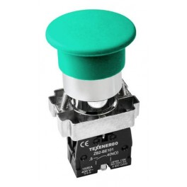 Кнопочный выключатель LAY5-BL31 зеленый 1з