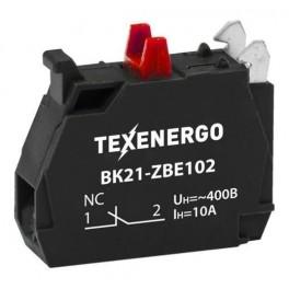 Вспомогательный блок контактов для ВК21-ZBE102 1р (1NC)