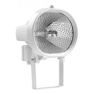 Прожектор галогенный ИО 500Вт белый овал IP54