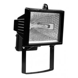 Прожектор галогенный ИО 150Вт черный IP54