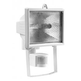 Прожектор галогенный ИО 500Вт Д с датчиком движения белый IP54