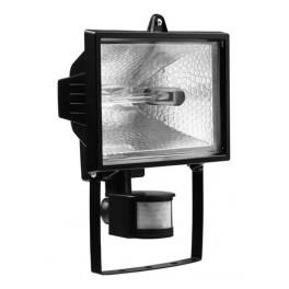 Прожектор галогенный ИО 500Вт Д с датчиком движения черный IP54