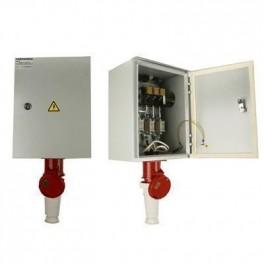Ящик силовой с рубильником и силовой розеткой ЯВЗШ-31 100А IP54 б/ПН (разъем 125А)