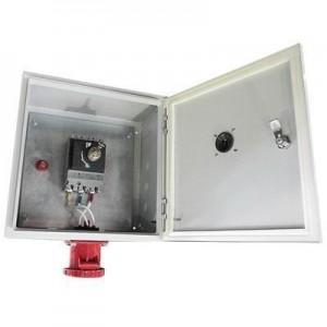 Ящик силовой с автомат. выкл и силовой розеткой ЯВША-3 - 100 А IP54 ( штепс.разъем 125А пятиштырьковый)