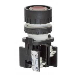 Выключатель кнопочный ВК-43-21 11110 1з+1р красн.