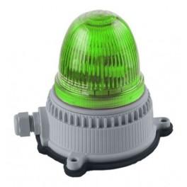 Маяк проблесковый ксенон. OVOPG9LMT24240A4 зелен.24/240В IP65 (30114)