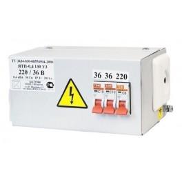 Ящик с пониж. трансформатором ЯТП-ОСО-0,4 220/24 В (3 автомата)