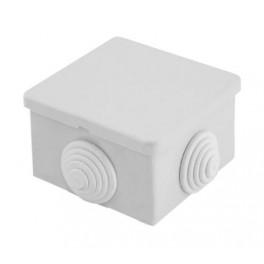 Коробка монтажная КОР94-4У2 Г квадратная (80х80х43) IP43