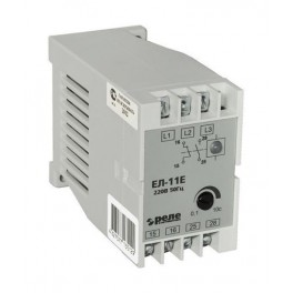 Реле контроля 3-х фазного напряжения ЕЛ-11Е 380В 50Гц