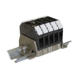 Блок зажимов БЗН18-2.5П25- 5