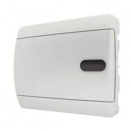 Бокс ЩРВ-П-12 мод (СVN 40-12-1) непрозр.бел дверь IP40 Tekfor