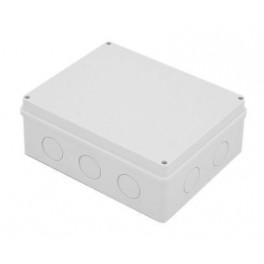 Коробка распаячная о/у 5 вводов 240х195х90мм IP55