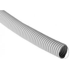 Труба ПВХ гофрированная 16 мм легкого типа с зондом (100м.)